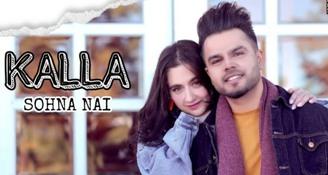 Kalla Sohna Nai Lyrics in Punjabi & English - AKHIL ft. Sanjeeda Sheikh   Babbu   MixSingh