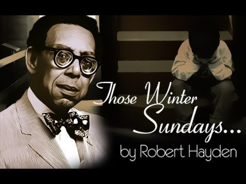 Friday's poem: Those Winter Sundays by Robert Hayden