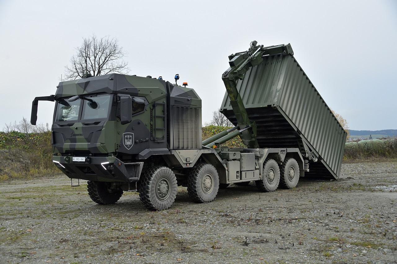 Rheinmetall презентувала нове покоління вантажівок HX3