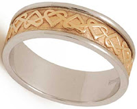 Celtic Wedding Bands - Love Knot