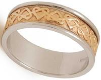 Celtic Wedding Bands - Love Knot