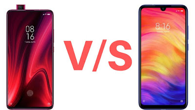 Redmi K20 Pro vs Redmi Note 7 Pro Depth Camera Comparison