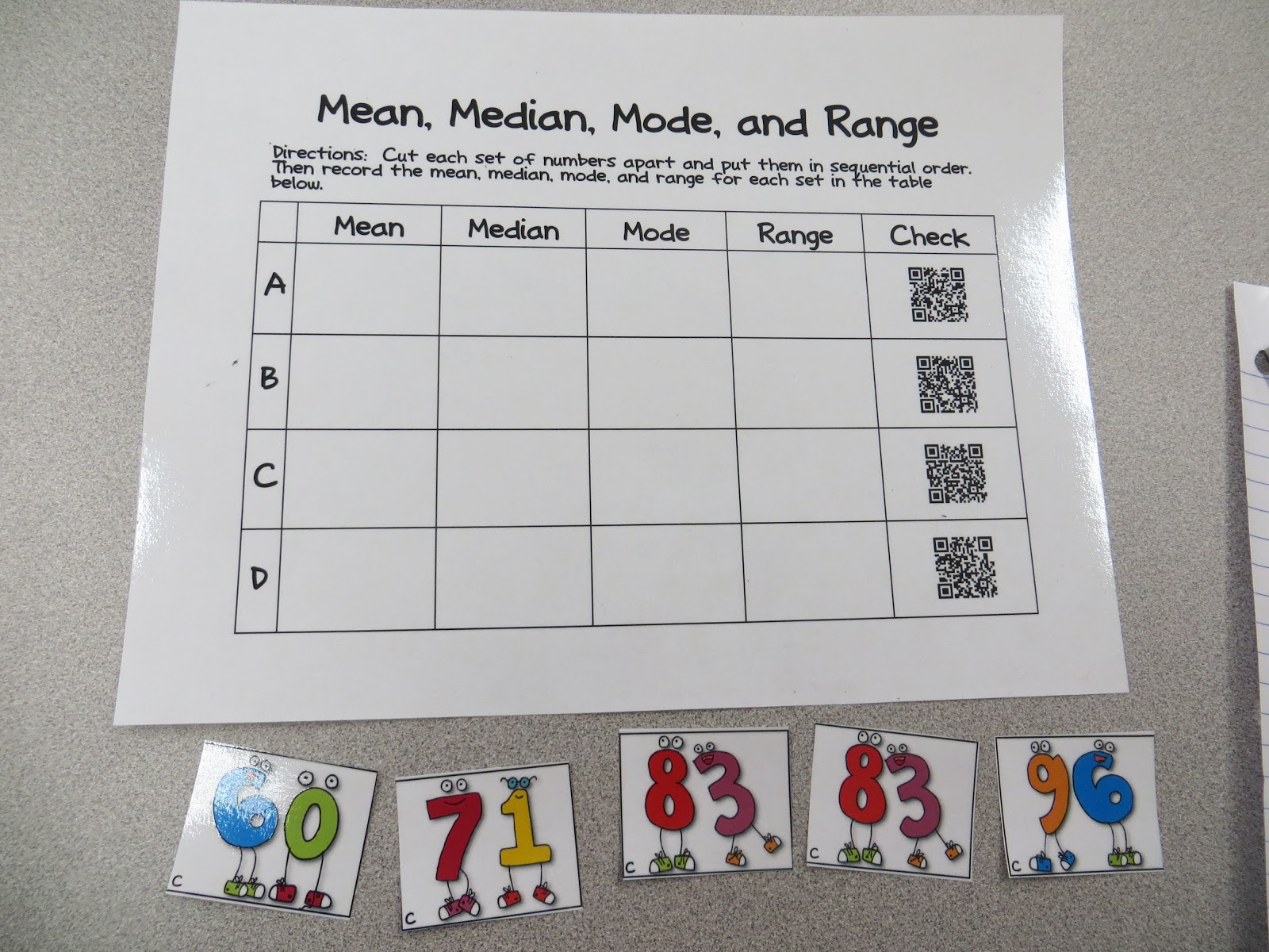Iteach 1 1 Test Prep Freebie