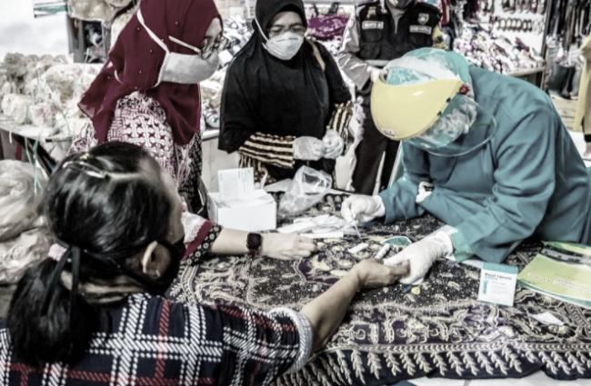 Puluhan Pedagang dibeberapa Pasar di Jakarta Positif Terinfeksi Virus Corona, Berikut Daftarnya