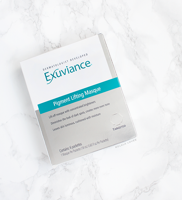 Exuviance Pigment Lifting Masque Review, Exuviance Review