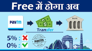 how to tranfer money from paytm wallet to bank account