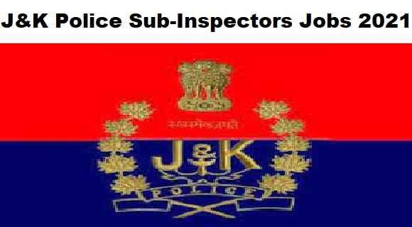 JK Police Sub-Inspectors