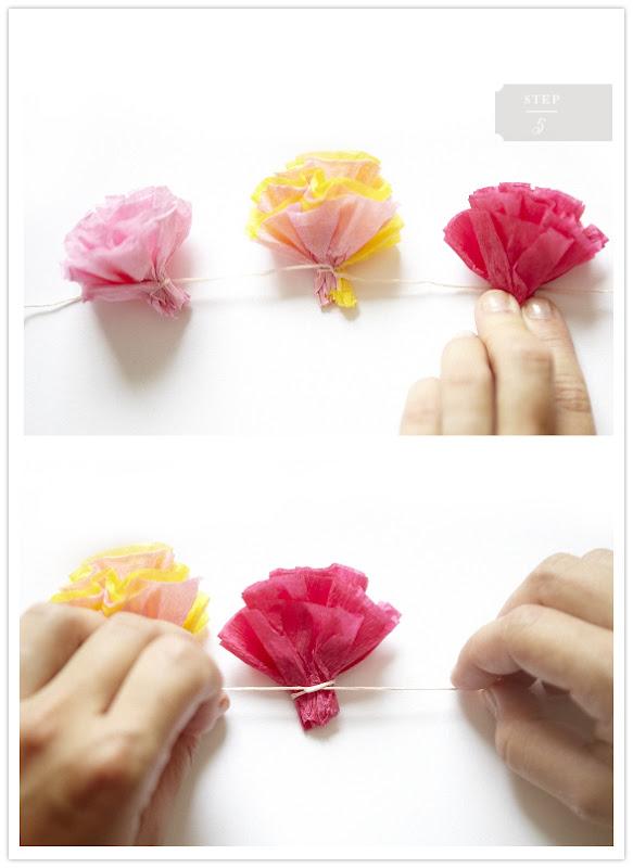 Craft Time Super Simple Diy Flower Garlands Hey Eep