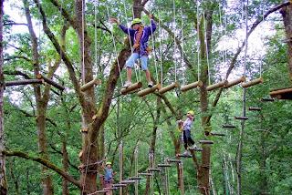 Bali Treetop Adventure Park Tour Bedugul Bali