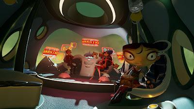 Psychonauts in the Rhombus of Ruin Game Screenshot 3