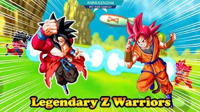 legendary Z Warriors : battle of Gods MOD APK for Android