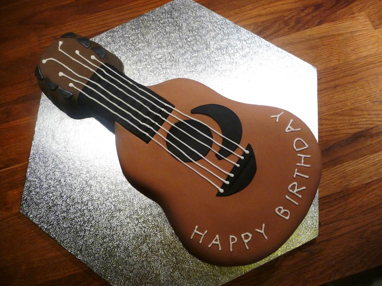 Guitar Shaped Cake Tin