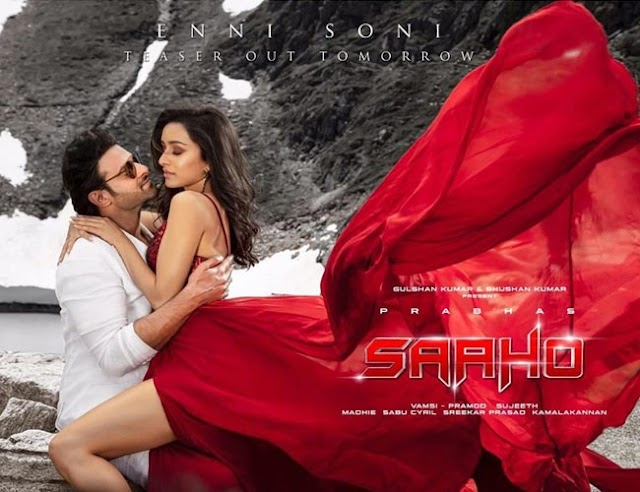 Saaho's first look of the romantic track 'Enni Soni' is out!