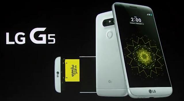 LG G5, LG