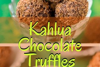 Kahlua Chocolate Truffles