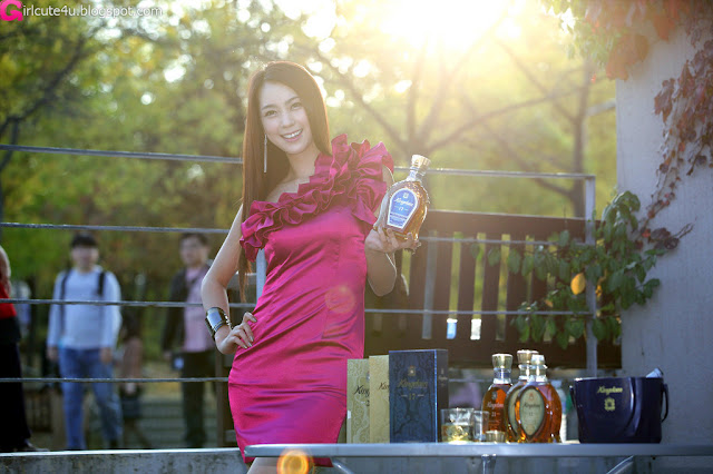 8 Ju Da Ha for Kingdom Whisky-very cute asian girl-girlcute4u.blogspot.com