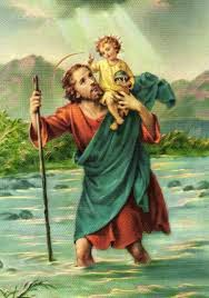 Saint Christopher, Pray for us