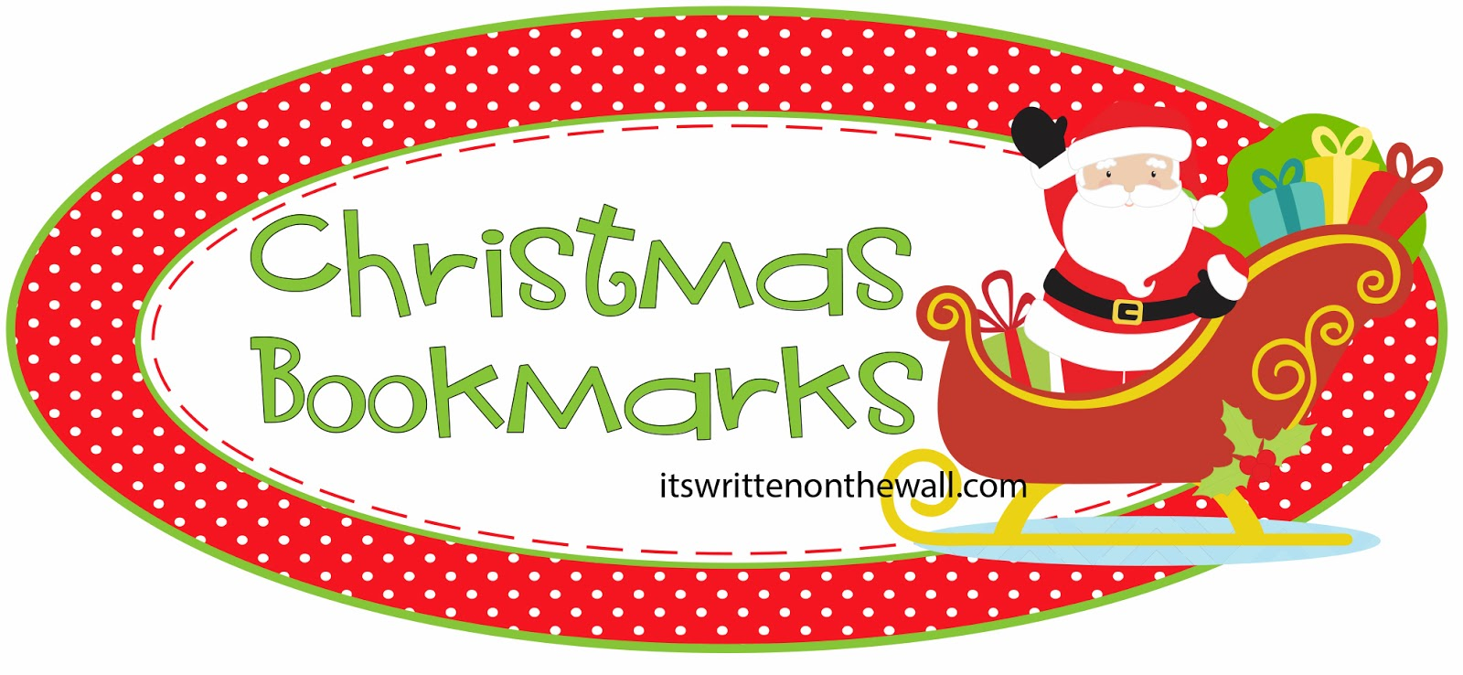 christmas bookmark templates – Christmas Bookmark Templates