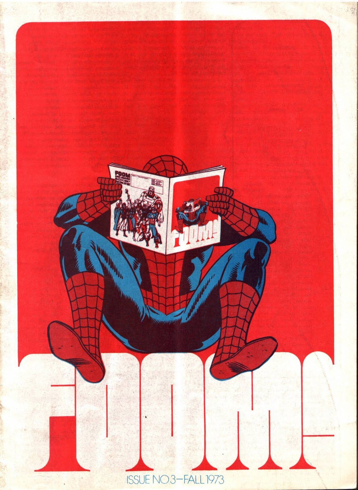 FOOM #3 bronze age 1970s marvel comic book cover art by Jim Steranko