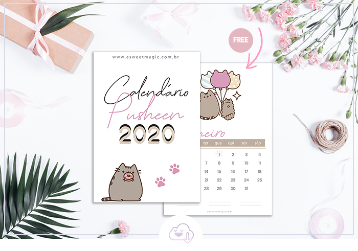 calendario-fofo-pusheen-download-gratis-2020