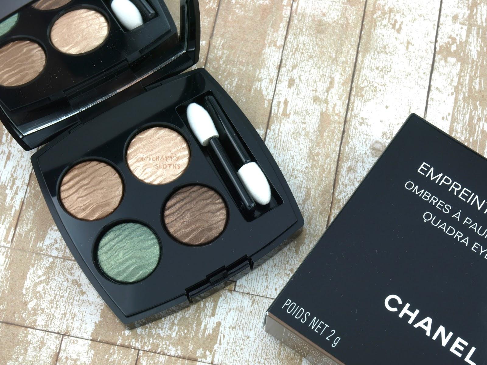 Chanel Summer 2016 Empreinte Du Deserts Eyeshadow Quad: Review And Swatches