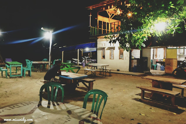 makanan di pulau tidung