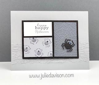 Stampin' Up! Little Treats Halloween Card ~ www.juliedavison.com #stampinup