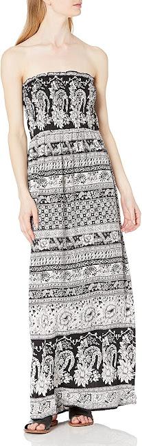Chic Strapless Smocked Maxi Dresses