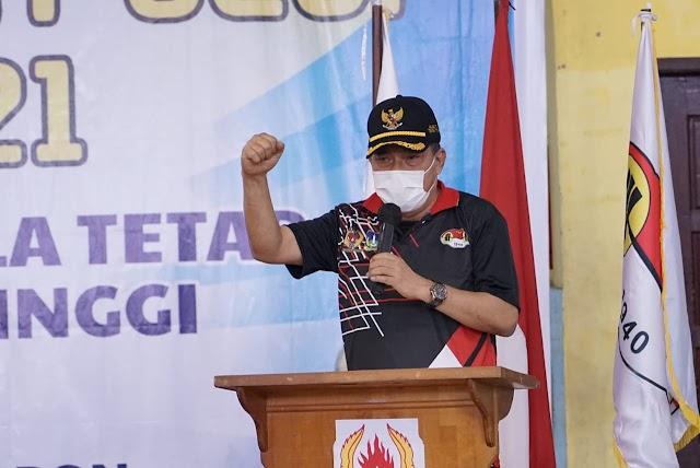 Walikota Tebing Tinggi Membuka KEJURDA Angkat Besi Sumatera Utara Piala Walikota Tahun 2021