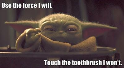 Baby Yoda Use the Force - Tinalicious
