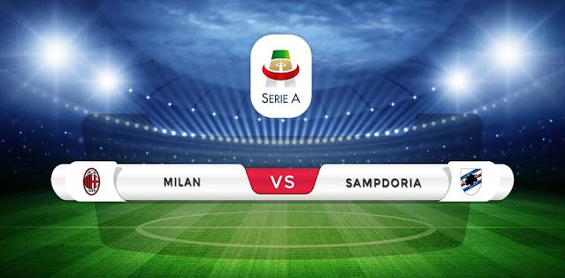 AC Milan vs Sampdoria Prediction & Match Preview