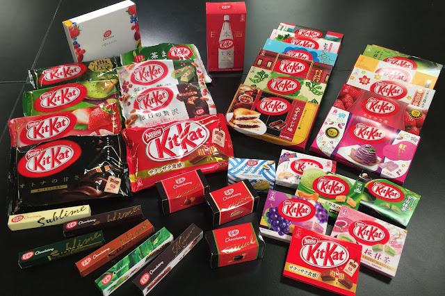 Kit Kat có xuất xứ từ nước Anh và được đưa vào thị trường Nhật Bản từ năm 1973. Giờ đây, Kit Kat đã trở thành một trong những thương hiệu bánh kẹo nổi tiếng ở Nhật và đất nước này hiện là thị trường lớn thứ hai của Kit Kat trên thế giới, chỉ sau quê hương của nó là nước Anh. Bên cạnh vị chocolate nguyên bản, người Nhật đã phát minh ra hơn 100 hương vị mới như: táo, bí đỏ, dâu, nho, lê, trà xanh, cam quýt, đậu nành,…