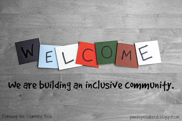 Welcome, we are building an inclusive community; Removing the Stumbling Block