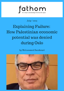 Explaining Failure: How Palestinian economic potential was denied during Oslo