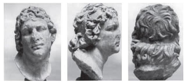 Προτομή θεωρούμενη ότι παριστά τον Μιθριδάτη 6ο Ευπάτορα και βρέθηκε στην ιταλική Όστια