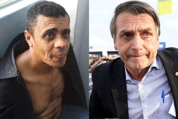 BBUv9un - Peritos dizem que agressor de Bolsonaro tem doença mental