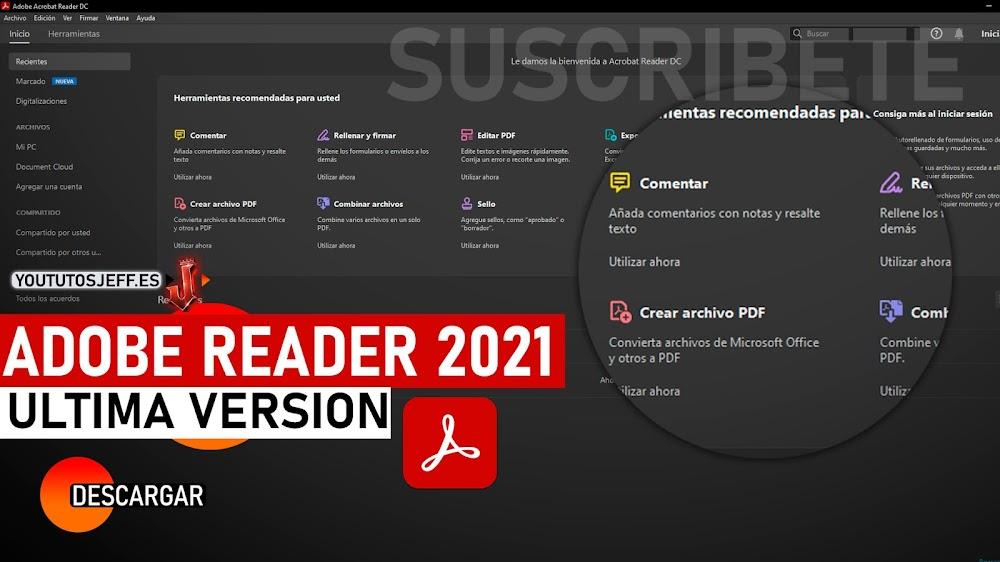 Como Descargar Adobe Reader Ultima Version 2021 Español