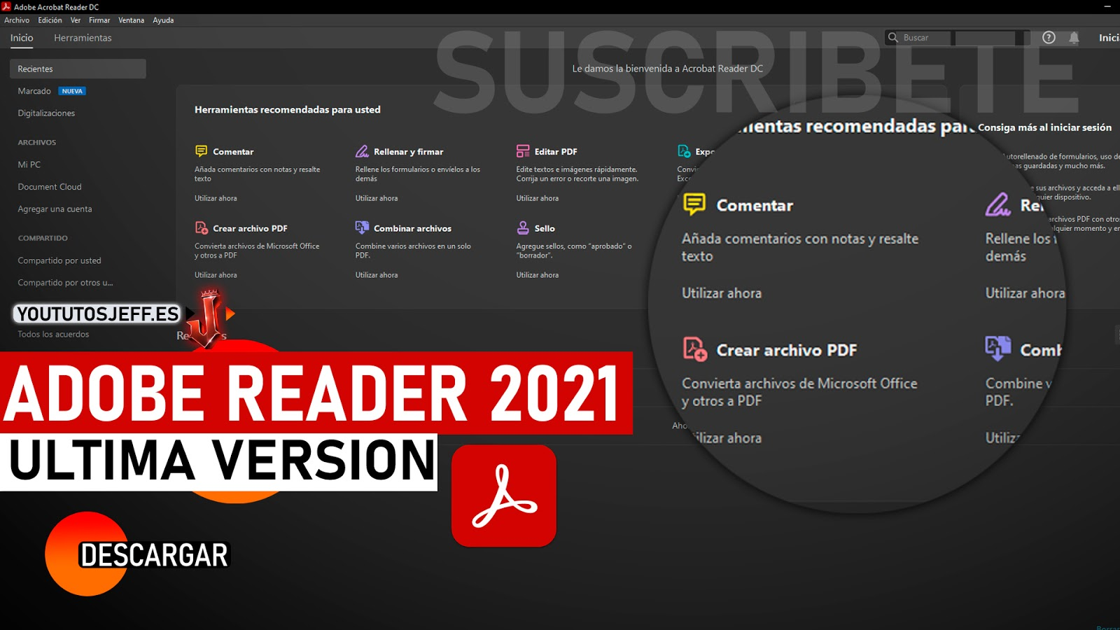Como Descargar Adobe Reader Ultima Version 2021 Español