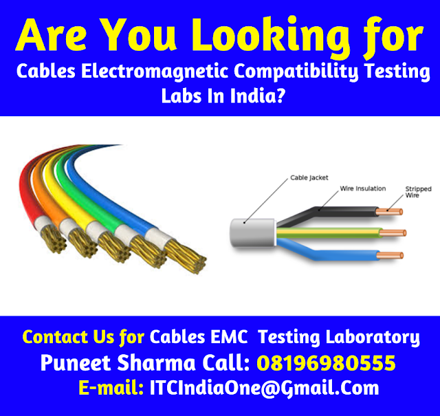 Cables EMC Electromagnetic Compatibility Testing Labs