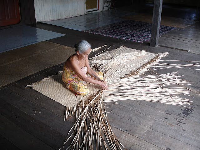 anyaman Sarawak Curitan Aqalili