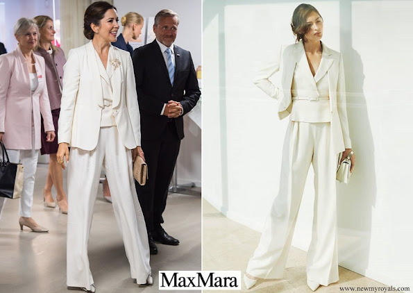 Crown Princess Mary wore Max Mara outfit from Spring Summer 2017