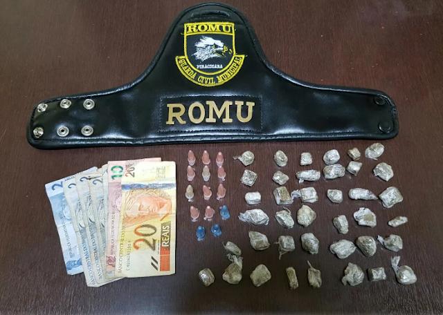 ROMU de Piracicaba apreende menor com drogas em Piracicaba