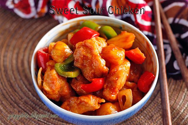 Sweet Sour Chicken 酸甜鸡 / 糖醋鸡