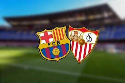 مباراة برشلونة واشبيلية sevilla vs barcelona يلا شوت بلس مباشر 10-2-2021 والقنوات الناقلة في كأس ملك إسبانيا