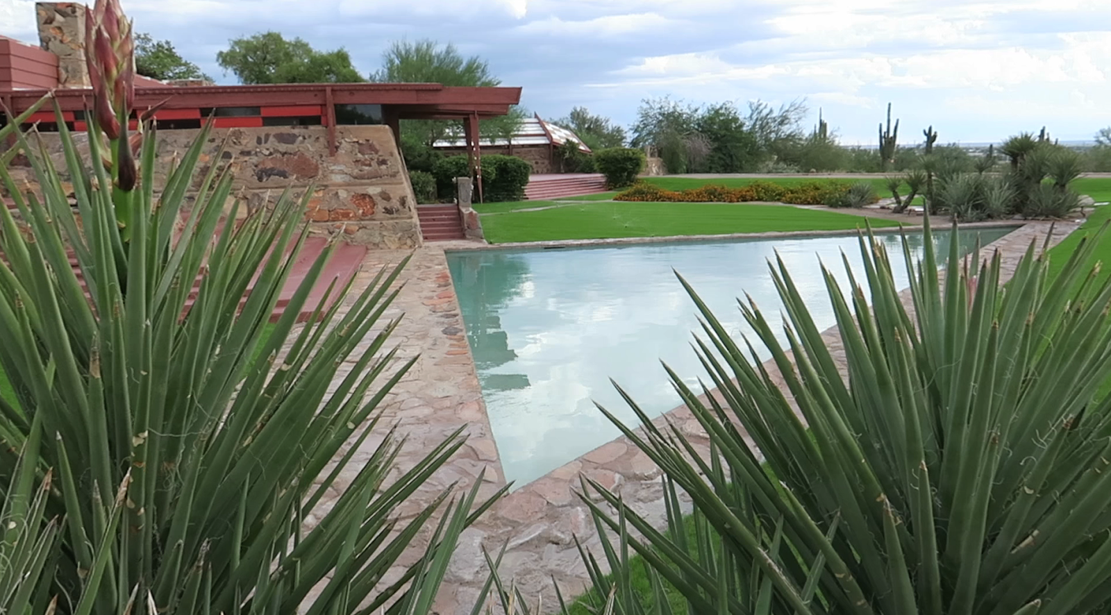 A tour of Frank Lloyd Wright's Taliesin West