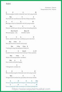 chord bukti penyanyi virgoun