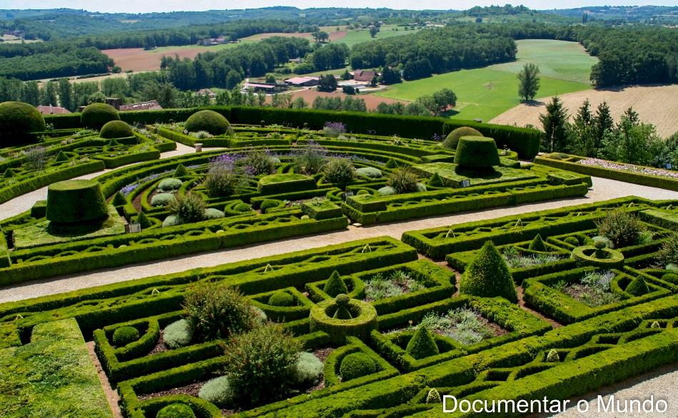 Os 1001 châteaux do Vale da Dordonha; château de Hautefort