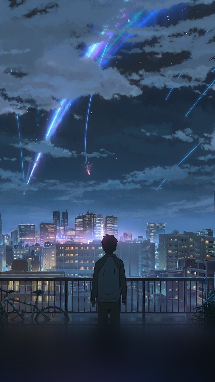 wallpaper de anime celular