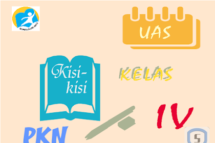 Kisi-kisi Latihan Soal Ulangan Semester 2 PKN Kelas 4 SD K13
