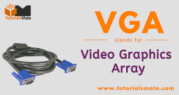 VGA Full Form